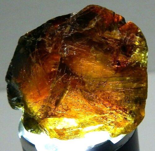 138ct Sphalerite Gemmy Natural Mined Unheated Facet Rough Spar Colorado USA RARE