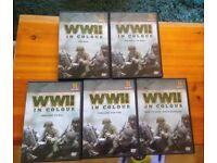 WW2 5 set dvd collection