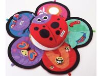 Lamaze spin and explore tummy time garden