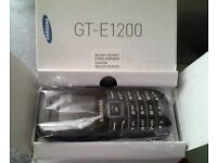 Samsung Keystone2 GT-E1200 Mobile Phone (02) with Charger, Instructions & in original box
