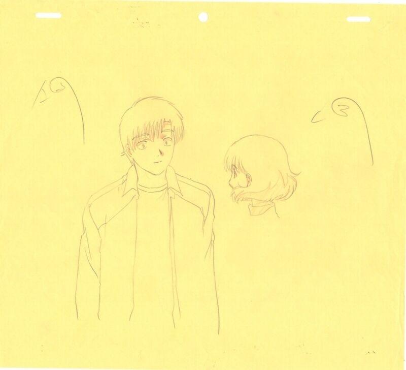 Anime Genga not Cel Chobits #113