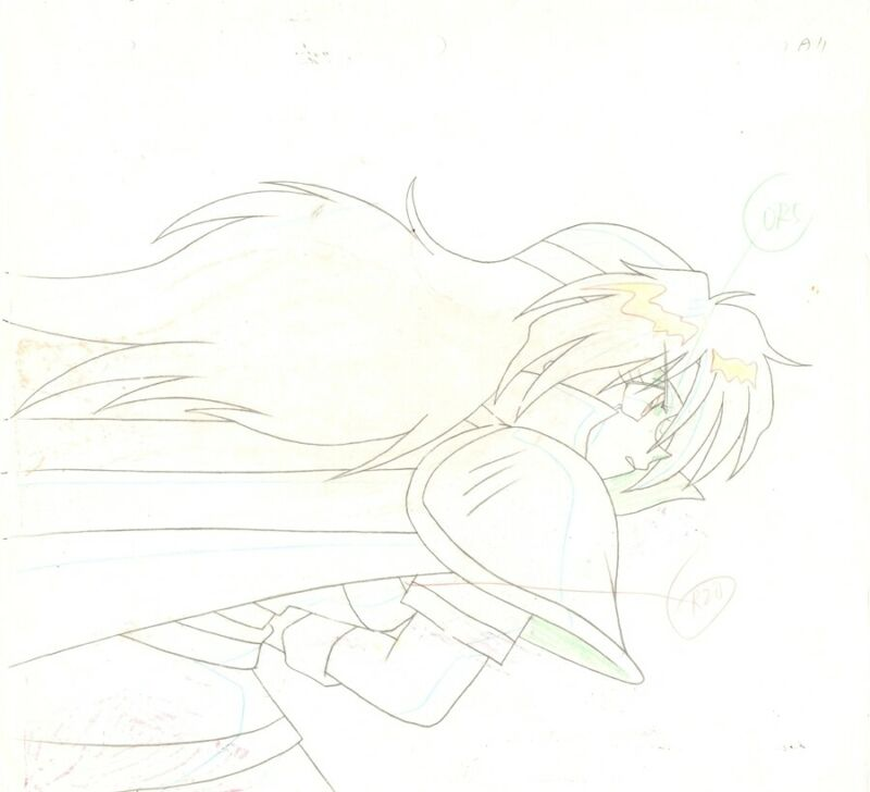 Anime Genga not Cel Slayers #229