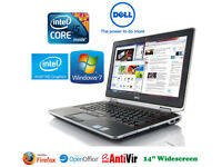 Deliver if needed - Dell Latittude GAMING LAPTOP Core i5 with Intel HD 3000 Graphics Windows7 64Bit
