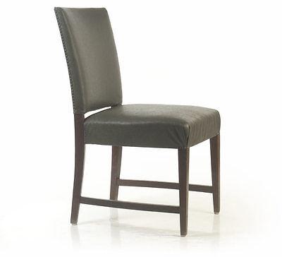 Art Deco Stuhl Sessel Federkern-Polster 1930/40 Konferenz- Viledon chaise chair