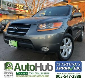 2009 Hyundai Santa Fe LIMITED-LEATHER-SUNROOF-AWD