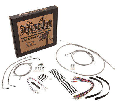 Burly Control Cable Kit Stainless 15