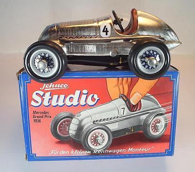 Schuco Nr. 1050 Studio Mercedes Grand-Prix vernickelt #4 Replica OVP #1365