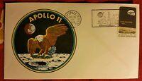 Busta Da Lettera Logo Apollo 11 - Apollo Xi Cover Envelope Cachet Insignia Nasa - apollo - ebay.it