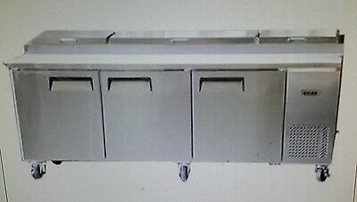 Bison Bpt-93 93 Refrigerated Pizza Prep Table