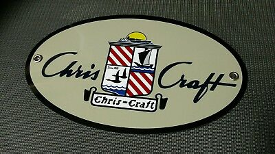 Chris Craft boat sign
