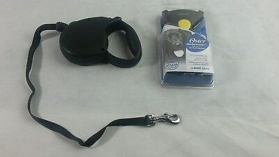 Oster Shedmonster less stress de-shedding tool and Retractable Leash for Dogs