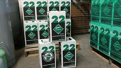 R22 Refrigerant 15 Lb. New Factory Sealed Virgin Made In Usa Same Day Shipping