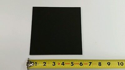 Black Kydex Plastic Sheet .093 332 Thick X 6 X 6 Haircell Finish