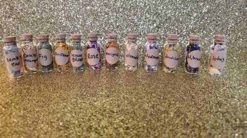 WICCA PAGAN STARTER kit 12 Witch Bottles