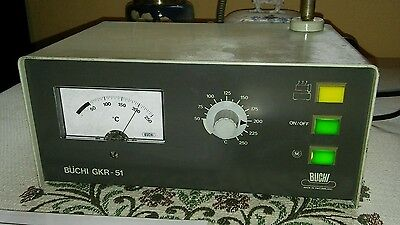 Buchi Gkr-51 Rotating Glass Drying Oven Electric Ball Controller Only - Working