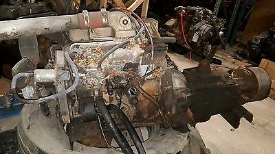 Sale Cummins 4Bt 3 9 Turbo Diesel Engine P Pump P7100 Ford Trans Free Shipping