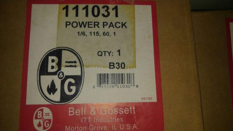 Bell & Gossett 111031 Booster Pump Motor 1/6, 115, 60 - B30