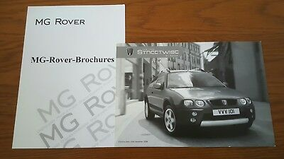 MG Rover 25 2004 Streetwise Sales Price List Leaflet (brochure) NEW 6348