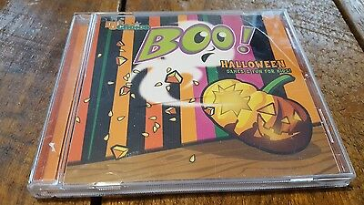 DJ's Choice BOO! HALLOWEEN FUN & GAMES FOR KIDS: HOLIDAY PARTY SONGS & GAMES CD!