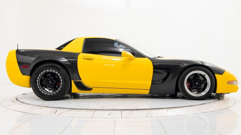 2003 Yellow Chevrolet Corvette Z06  | C5 Corvette Photo 6