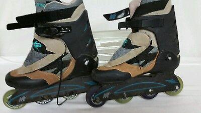 K2 Extreme Z In Line Skates Women's Size 9.5 for sale  Placerville
