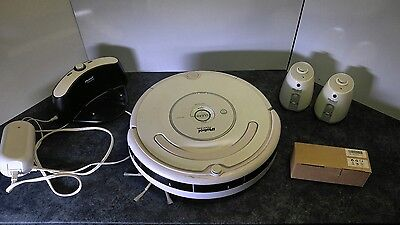 roomba 530 with extras base and virtual walls new battery
