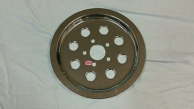Harley-Davidson rear drive belt pulley Chrome cover