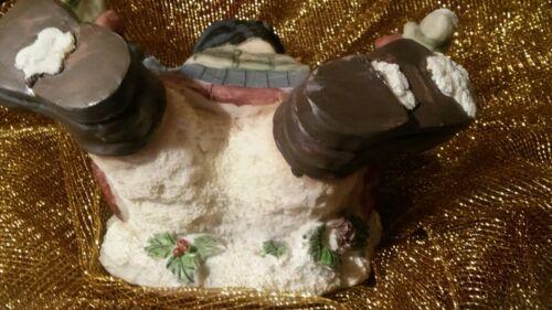 Studio 33 Humorous Fallen Snowman Candy Dish, Candle Holder Or Inscense Burner  - $7.99