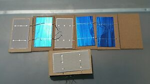 40 WHOLE short/long tabbed 3x6 POLYCRYSTALLINE Solar PHOTOVOLTAIC CELL 1.8W SUNY