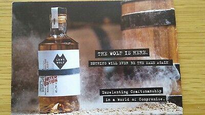 Brewdog   Lone Wolf Advertising Card Postcard