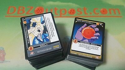 Dragon Ball Z Common + Uncommon Playset Play Set! Panini DBZ TCG Awakening