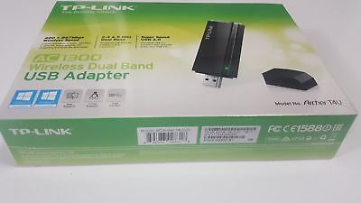 NEW TP-LINK AC1300 Wireless Wi-Fi USB 3.0 Adapter (Archer T4U V2)