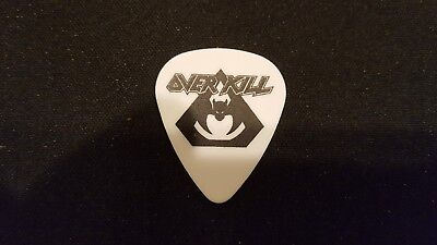OVERKILL / Derek Tailer OFFICIAL Signature guitar pick. LIMITED PRODUCTION!