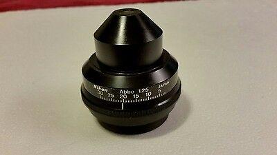 Nikon Labophot - 2 Abbe 1.25 Condenser