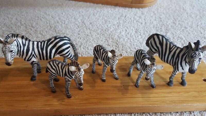 Schleich Zebra Family