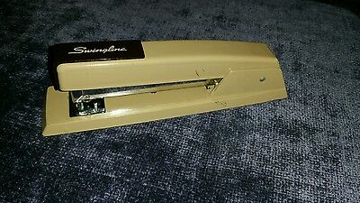 Vintage Swingline 747 Heavy Duty Stapler Tan And Brown Free Shipping