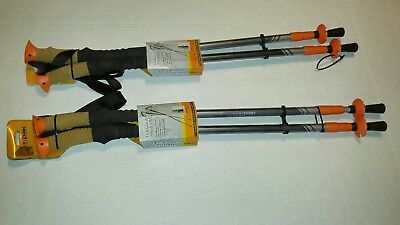 North Pak Trek Poles with Cork and Foam Handles. 2 sets