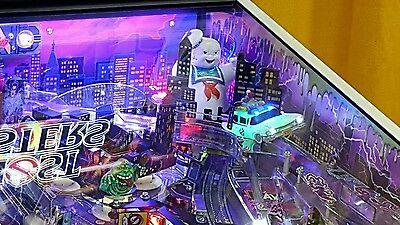Ghostbusters Pinball Machine FLASHING SIREN Lighted Ecto Car Pro, LE and Premium - Flashing Light Machine