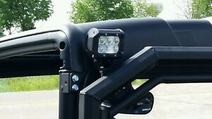 POLARIS RANGER LED BACKUP LIGHT SPOTLIGHT BRACKETS ONLY RANGER REAR LIGHT BAR