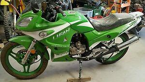 2006 Lifan LF-150-25 sport bike parts new 150cc LF200 seat
