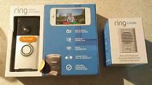 Ring WiFi 720p Video Doorbell in Satin Nickel + Chime Casula Liverpool Area Preview