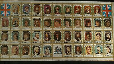Stamps Kings & queens of England