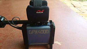 Minelab GPX4000 metal detector Coffs Harbour Coffs Harbour City Preview