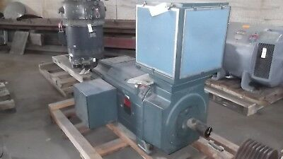 100 HP DC Reliance Electric Motor, 300 RPM, B5010ATZ Frame, 500 V, New