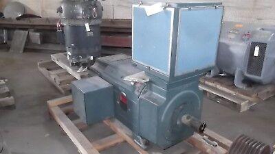 100 Hp Dc Reliance Electric Motor 300 Rpm B5010atz Frame 500 V New