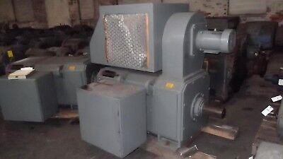 100 HP DC General Electric Motor, 400 RPM, 6055 Frame, DPFV, 500 V, New
