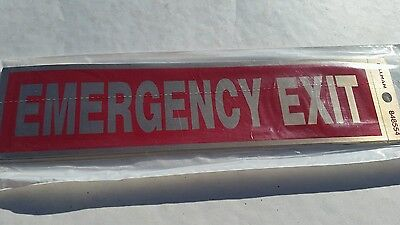 Emergency Exit Sign6 Pieces