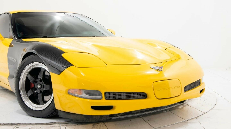 2003 Yellow Chevrolet Corvette Z06  | C5 Corvette Photo 5