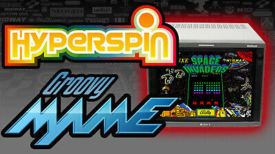 HyperSpin GroovyMAME Arcade PC - 2TB Hard Drive - Ready For CRT TV Monitor & PVM