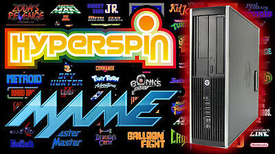 HyperSpin MAME Arcade PC Gaming Computer - With 8TB Hard Drive